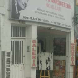 Marqueteria y Galeria Hojillar en Bogotá