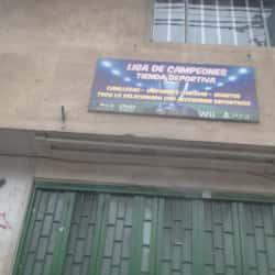 Liga de Campeones en Bogotá