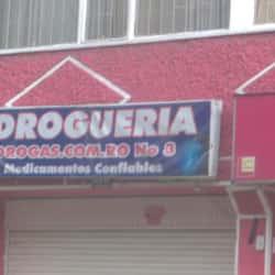 Drogueria Drogas.Com.Ro N° 3 en Bogotá