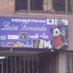 Cosmeticos Luisa Fernanda en Bogotá