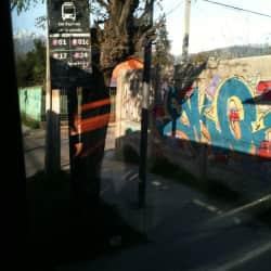 Paradero Transantiago PF189 en Santiago