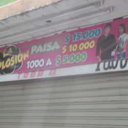 La Explosion Paisa en Bogotá