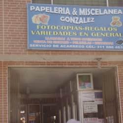Papeleria & Miselanea Gonzalez en Bogotá