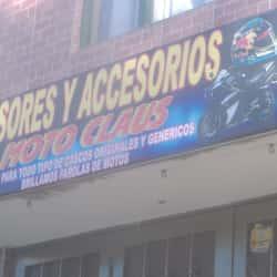 Moto Claus en Bogotá