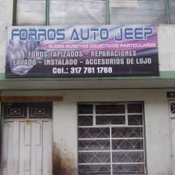Forros Autos Jeep en Bogotá