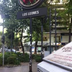 Estación Metro Los Leones en Santiago
