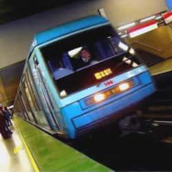 Estación Metro Salvador en Santiago