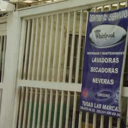 Centro de Servicio Wirlphool en Bogotá