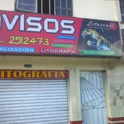 Litoseñal en Bogotá