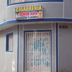 Cigarrería Donde Ana  en Bogotá