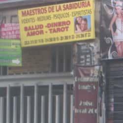 Maestros de la Sabiduria en Bogotá