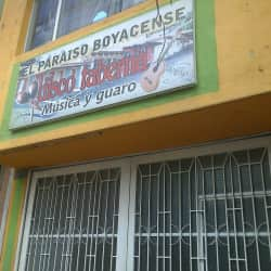 Disco Taberna el Paraiso Boyacence en Bogotá