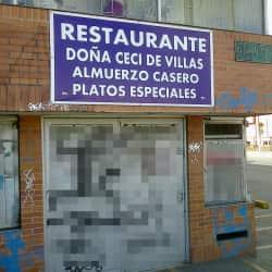 Restaurante doña Ceci de villas  en Bogotá
