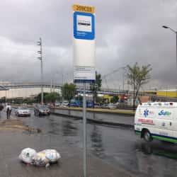 Paradero SITP Barrio Entre Ríos - 209A03 en Bogotá