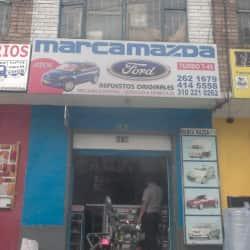Marca Mazda & Ford en Bogotá