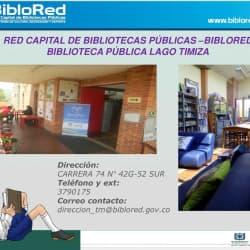 Biblioteca Pública Lago Timiza en Bogotá