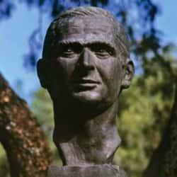 Busto de Fabio Lozano Simonelli en Bogotá