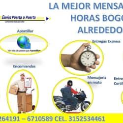 Envíos Puerta A Puerta Express en Bogotá