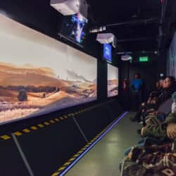 Museo Interactivo Audiovisual (MUI) en Santiago
