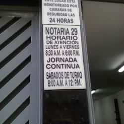 Notaría 29 - Carrera 13 en Bogotá