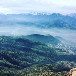 Cerro Manquehue en Santiago