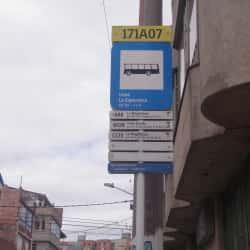 Paradero SITP Liceo La Esperanza - 171A07 en Bogotá