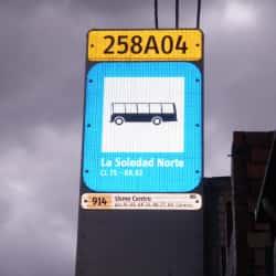 Paradero SITP Barrio La Soledad Norte - 258A04 en Bogotá