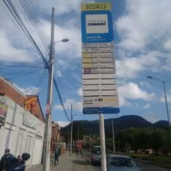 Paradero SITP Carrera 5A - 103A13 en Bogotá