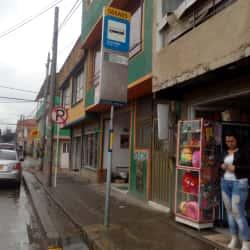Paradero SITP Barrio Los Laureles Carrera 113B - 066A05 en Bogotá