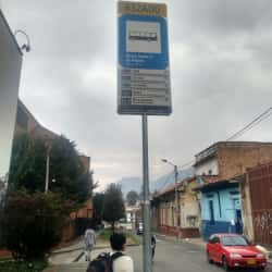 Paradero SITP Calle 6 - 632A00 en Bogotá
