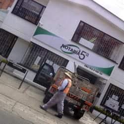 Notaría 05  en Bogotá