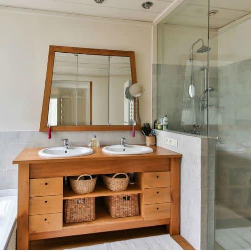 División de baño incluida instalación por solo $475.000