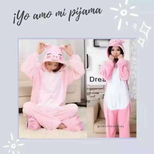 Pijama de cerdita para niñas por solo $55.000