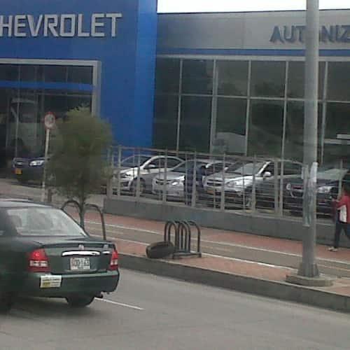 Chevrolet Autoniza Avenida Suba en Bogotá 2