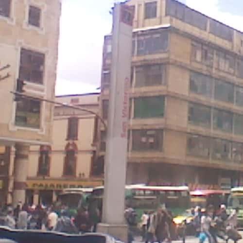 Estación San Victorino en Bogotá 4