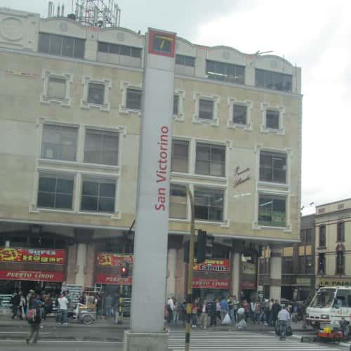 Estación San Victorino en Bogotá 2