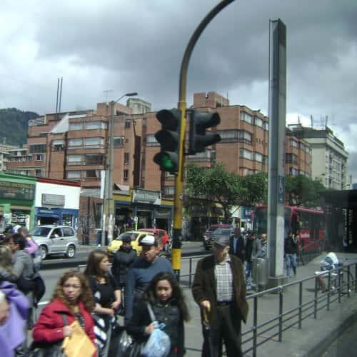 Estación Marly en Bogotá 9