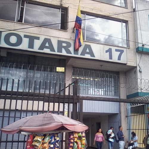 Notaría 17 Carrera 10 en Bogotá 4