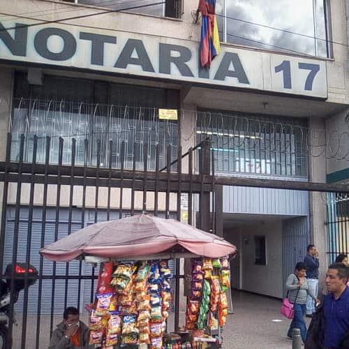Notaría 17 Carrera 10 en Bogotá 3