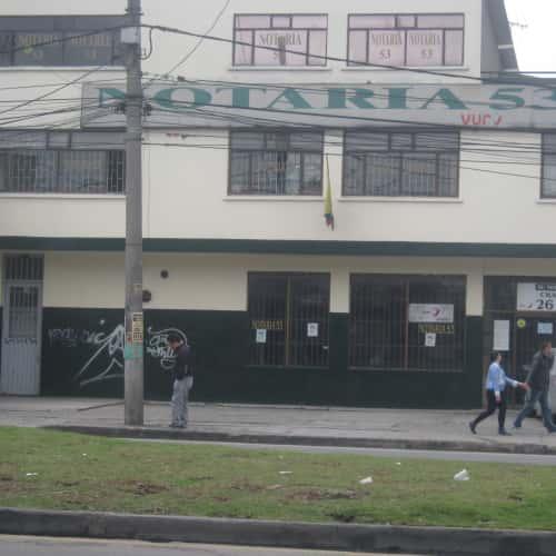 Notaría 53 Carrera 70B en Bogotá 1
