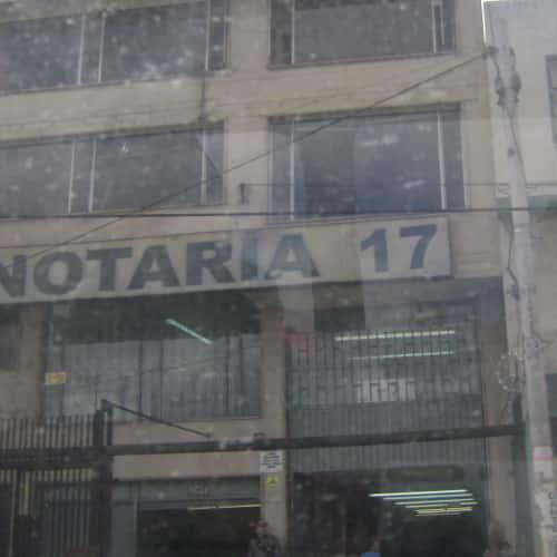 Notaría 17 Carrera 10 en Bogotá 7