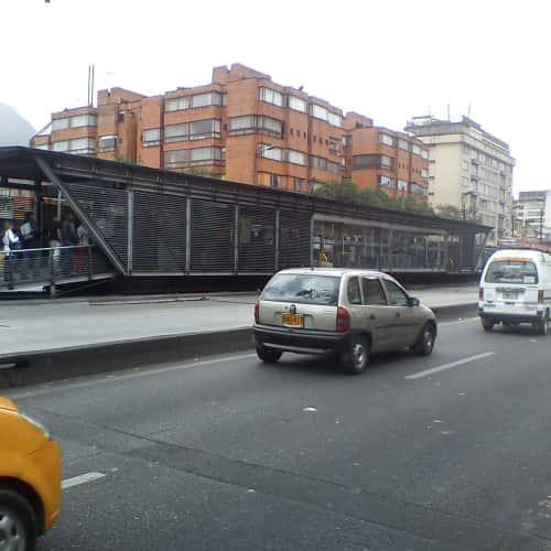 Estación Marly en Bogotá 2