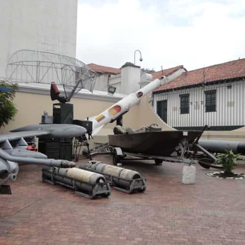 Museo Militar de Colombia  en Bogotá 3