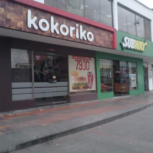 Kokoriko Avenida Chile en Bogotá 7