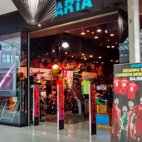 Sparta - Mall Plaza Vespucio en Bogotá 7
