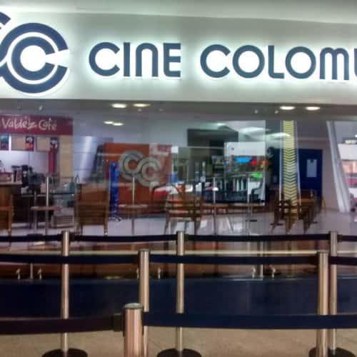 Cine Colombia Avenida Chile en Bogotá 1