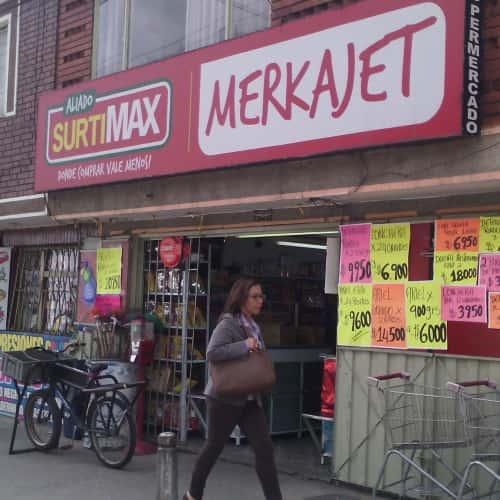 Autoservicio Merkajet en Bogotá 3