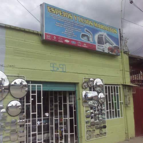 Espejos y Lujos Mariautos en Bogotá 1