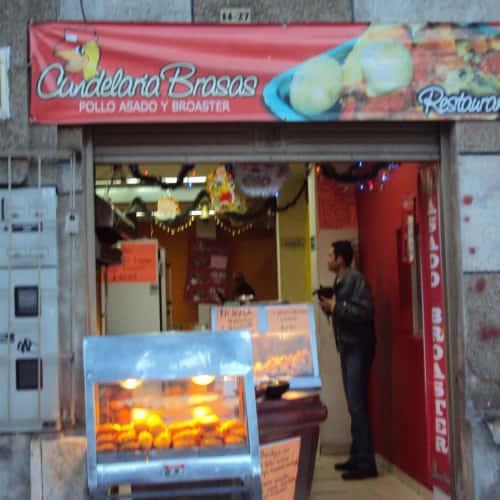 Candelarias Brasas Donde El Flaco en Bogotá 4