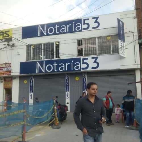 Notaría 53 Carrera 70B en Bogotá 6